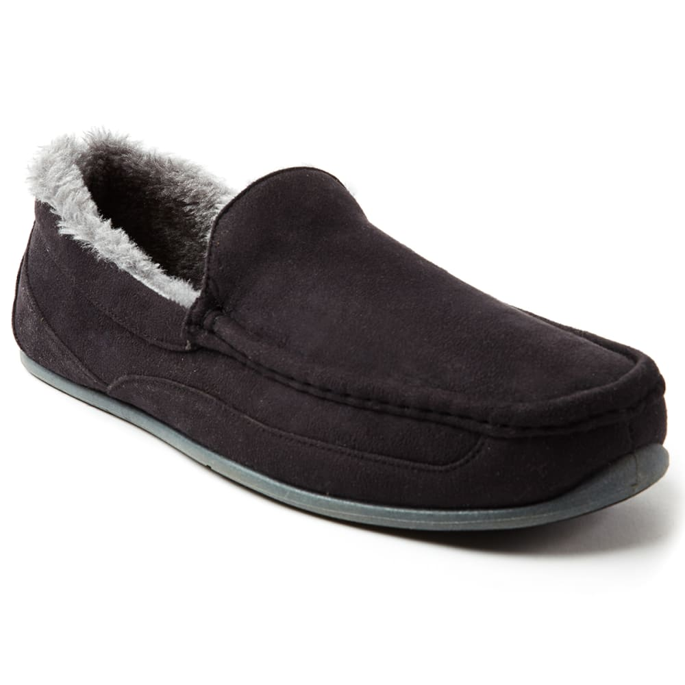Slipperooz By Deer Stags Men's Spun Indoor/outdoor Slip-On Slippers - Black, 11