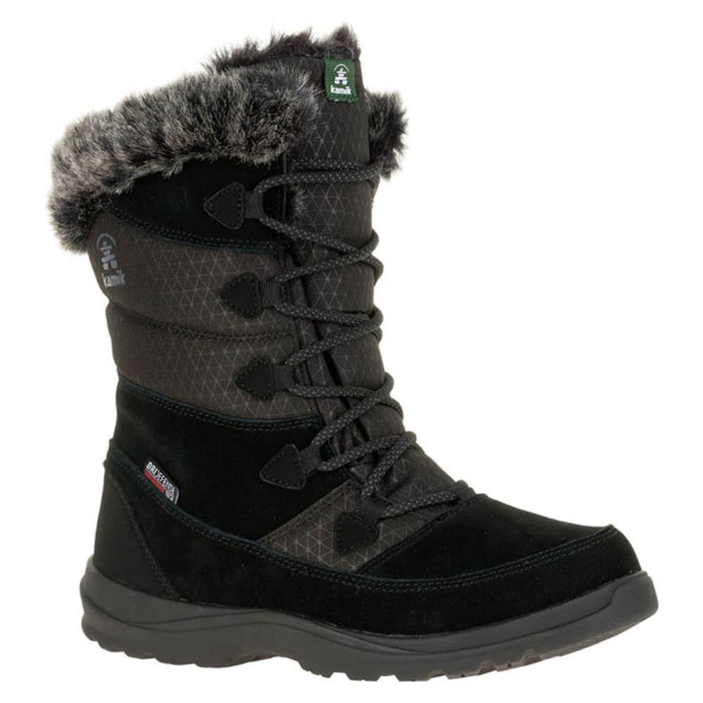 KAMIK Women's Polarfox Waterproof Insulated Storm Boots - BLACK
