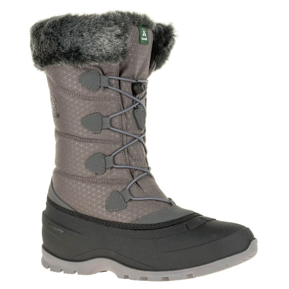 KAMIK Women's Momentum2 Waterproof Insulated Storm Boots - CHARCOAL