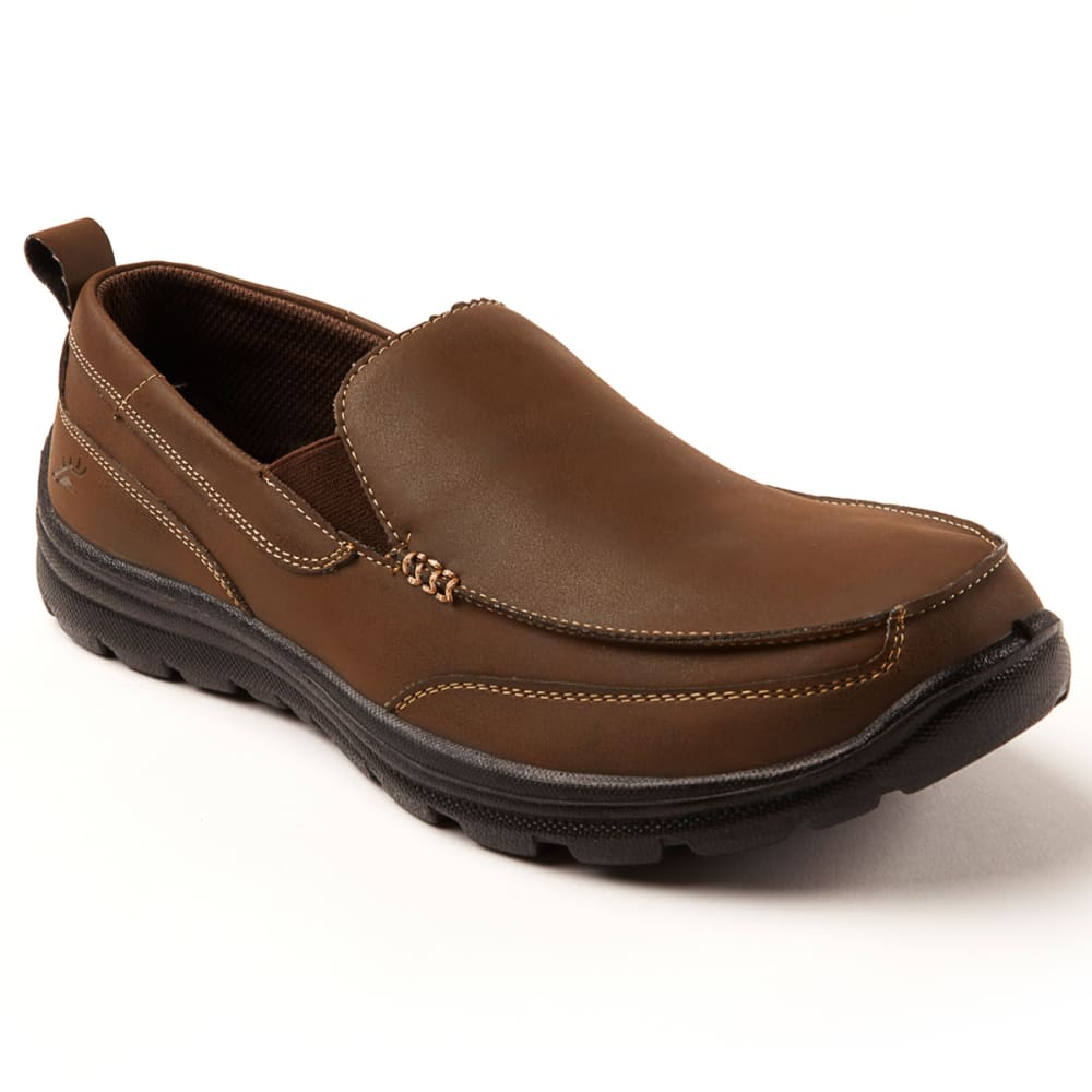 Deer Stags Men's Everest Casual Slip-On Loafer Shoes - Brown, 8