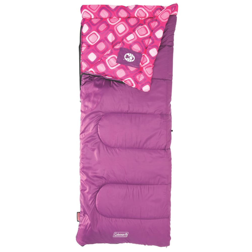 COLEMAN Girls' Plum Fun 45 Sleeping Bag - FUSHIA