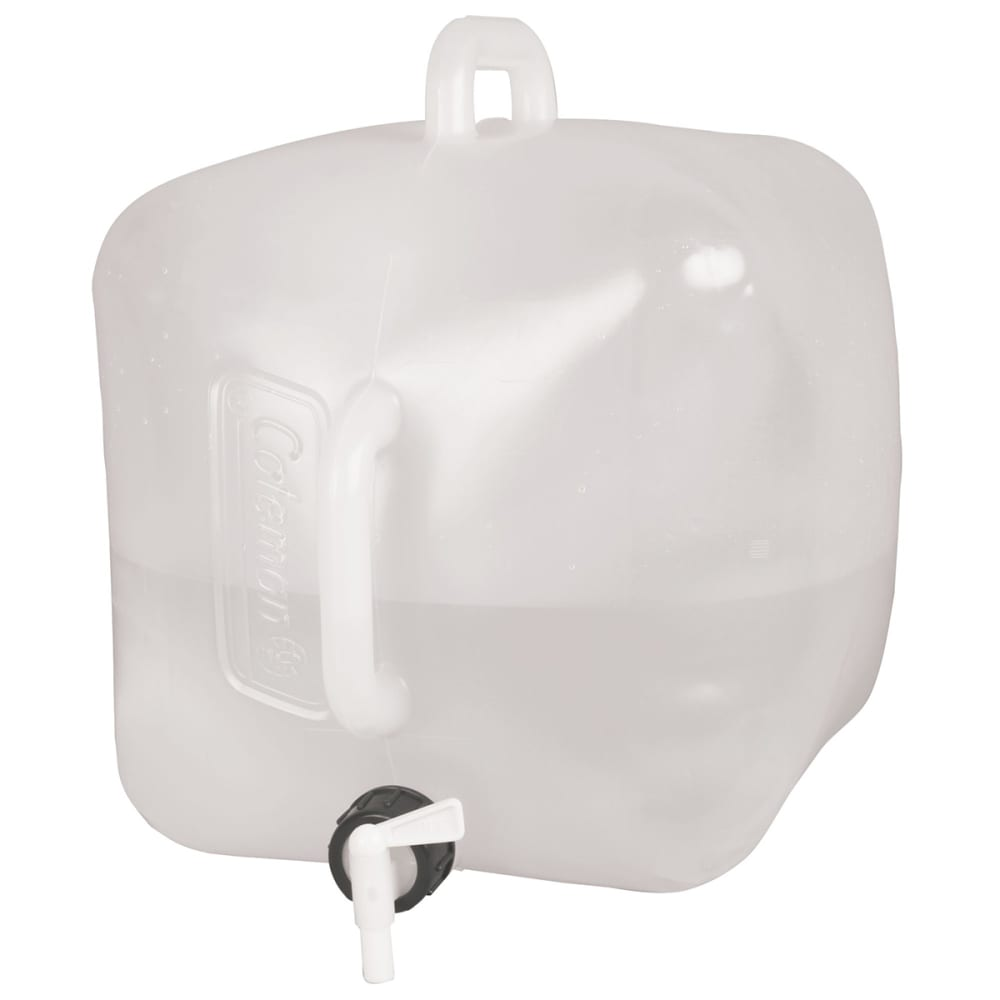 COLEMAN 5-Gallon Collapsible Water Carrier - WHITE