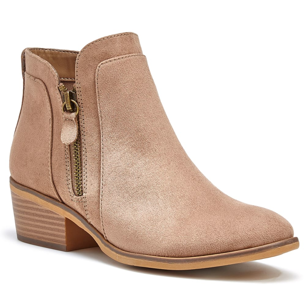 MIA Women's Jocelyn Ankle Booties - TAUPE