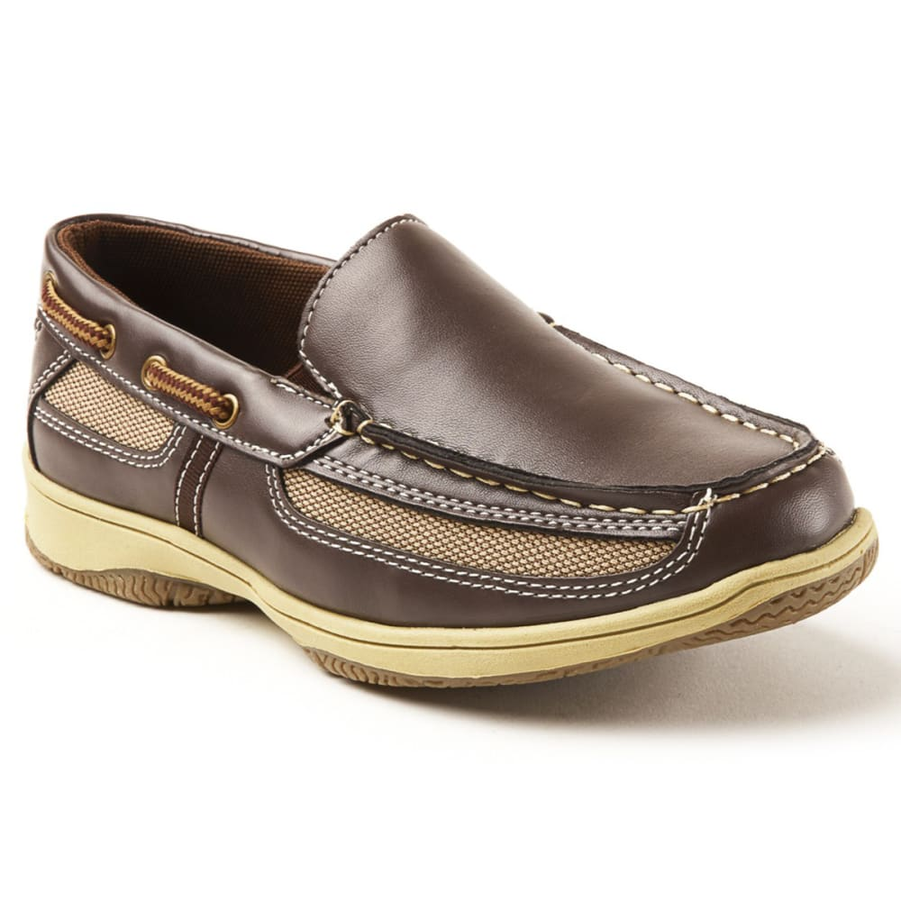 DEER STAGS Boys' Pal Slip-On Boat Shoes 1