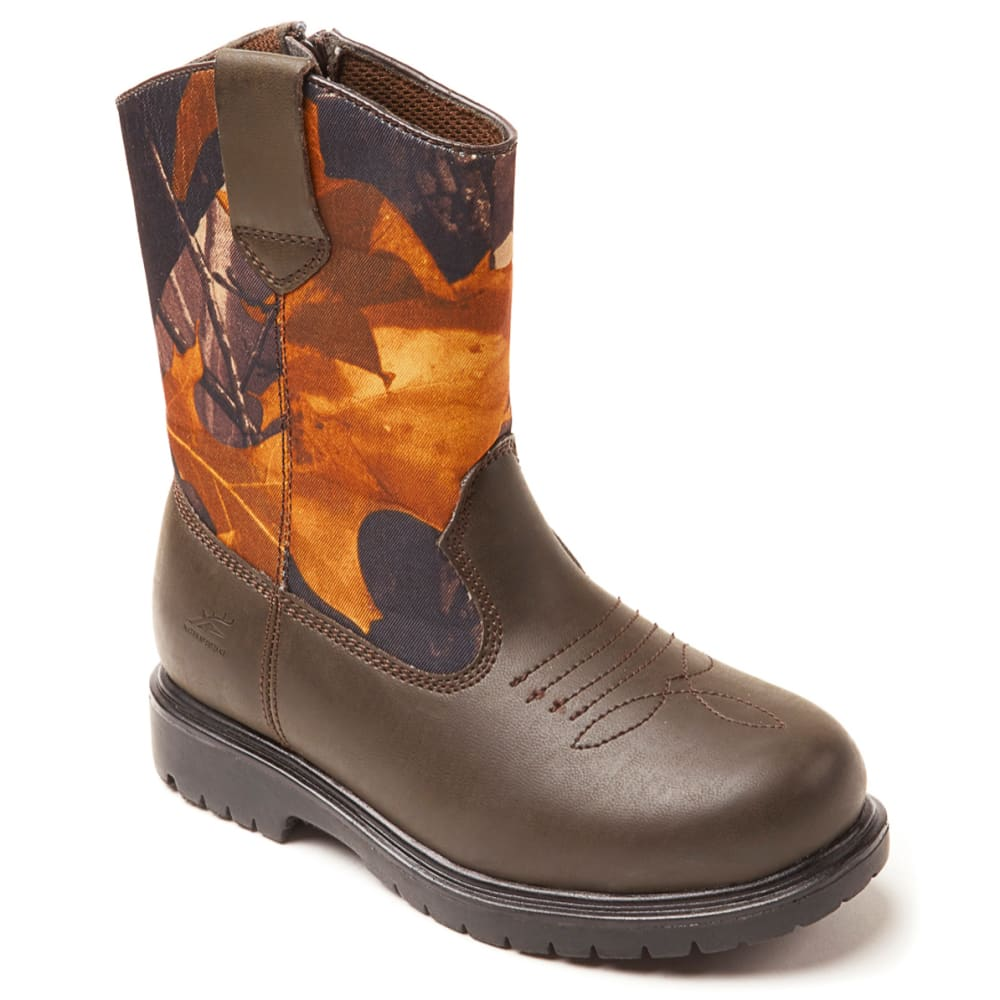 DEER STAGS Boys' Tour Shoe - CAMOUFLAGE
