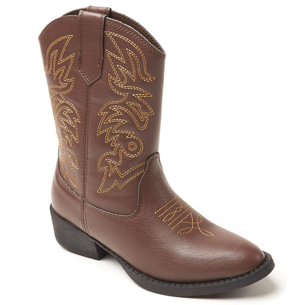 DEER STAGS Boys' Ranch Cowboy Boot 1