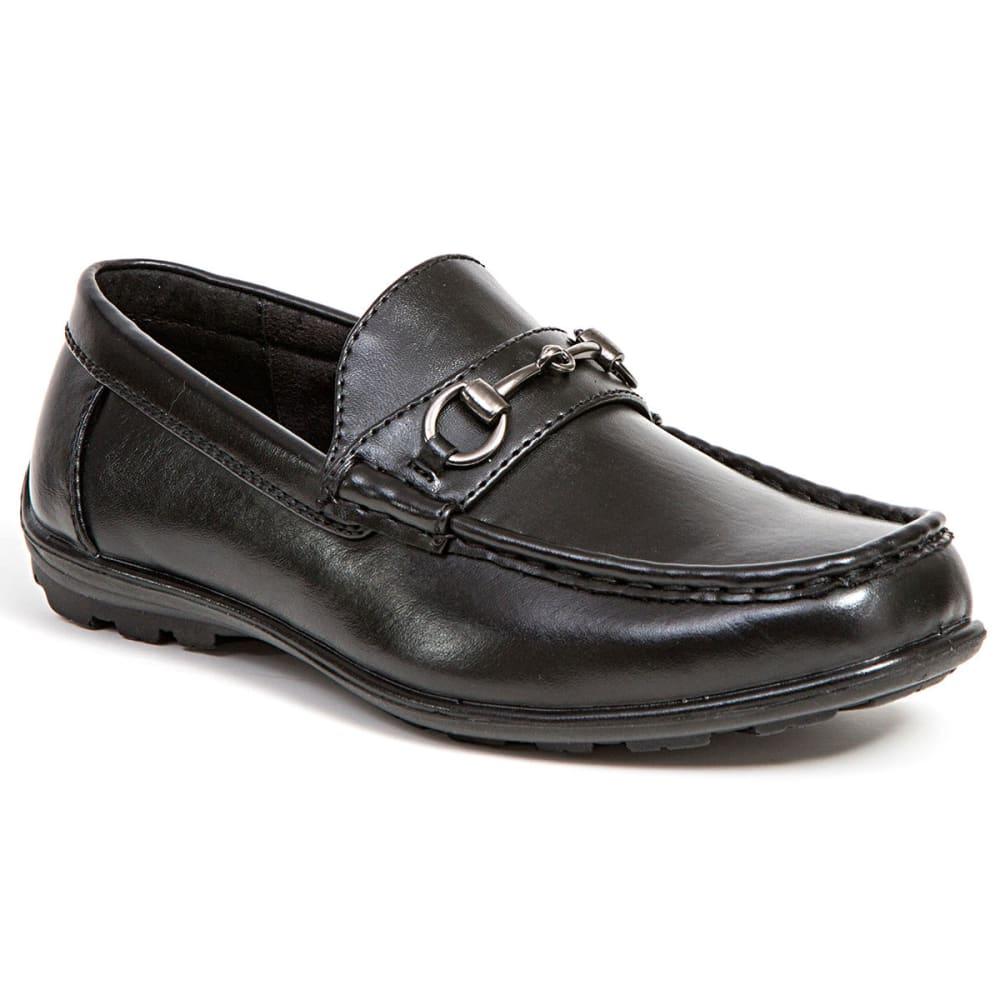 Deer Stags Boys' Latch Shoe - Black, 13.5