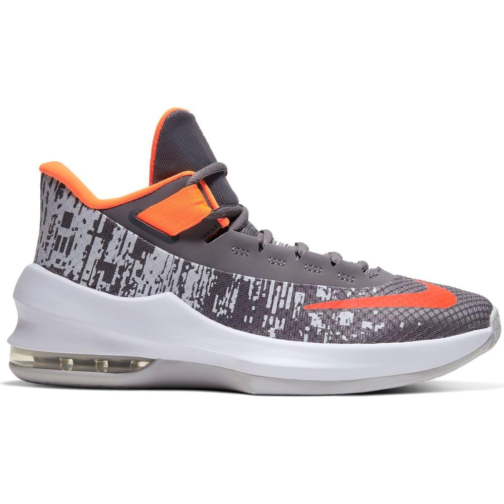 NIKE Big Boys' Grade School Air Max Infuriate 2 Mid Basketball Shoes 3.5