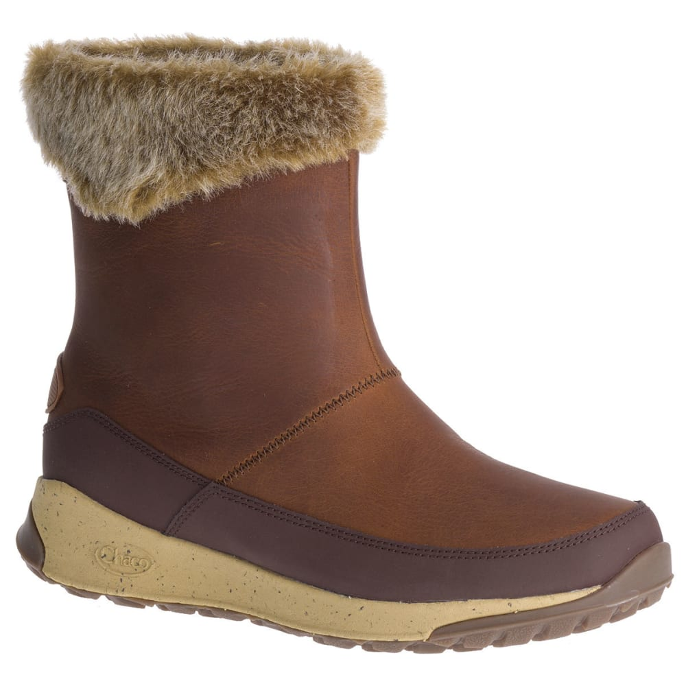 Chaco Women's Borealis Mid Waterproof Insulated Storm Boots - Brown, 7