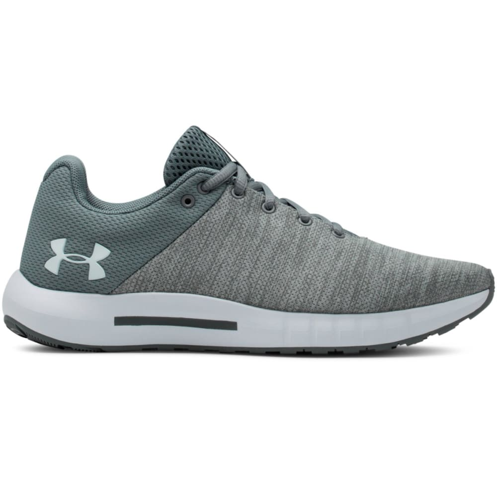 UNDER ARMOUR Women's UA Micro G Pursuit Twist Running Shoes - JET GRAY-101