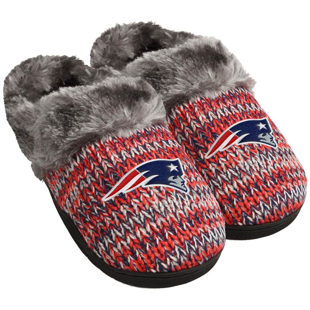 NEW ENGLAND PATRIOTS Women's Peak Slide Slippers - NAVY