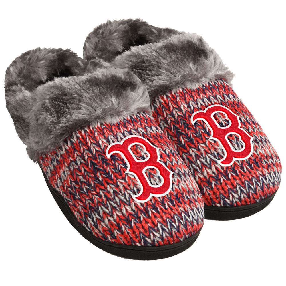 BOSTON RED SOX Women's Peak Slide Slippers - NAVY