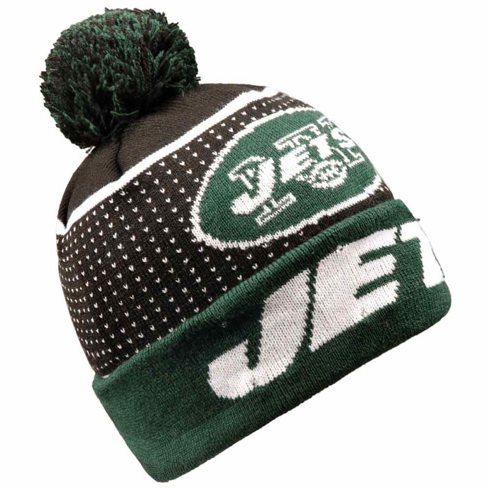 NEW YORK JETS 2018 Big Logo Knit Light-Up Beanie - GREEN