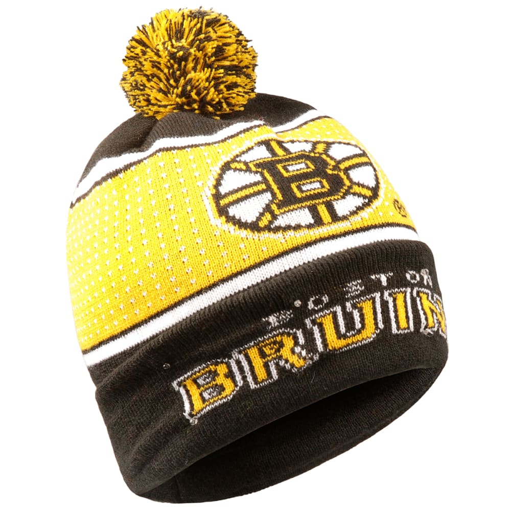 Boston Bruins 2018 Big Logo Knit Light-Up Beanie