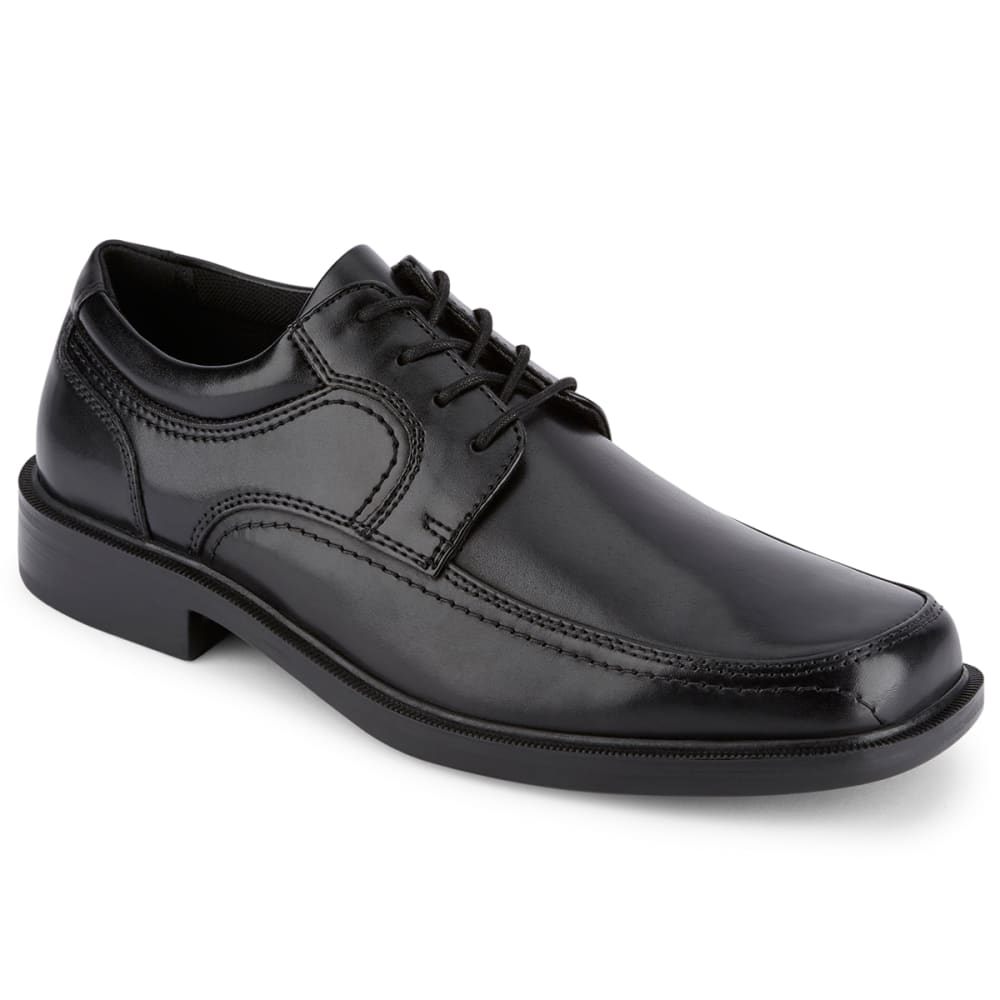 DOCKERS Men's Manvel Leather Dress Shoes - BLACK