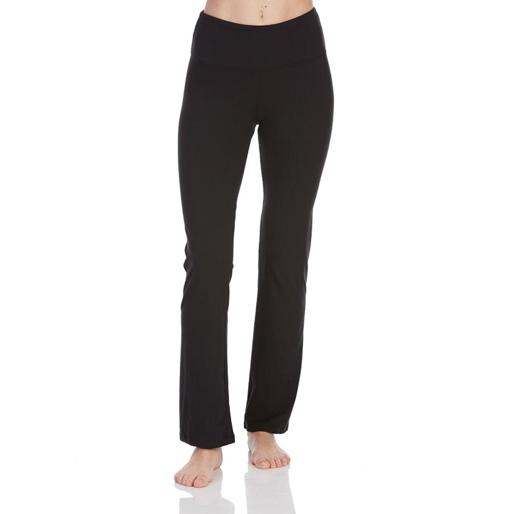 BALLY Women's Barely Flare Yoga Pants - BLACK-001