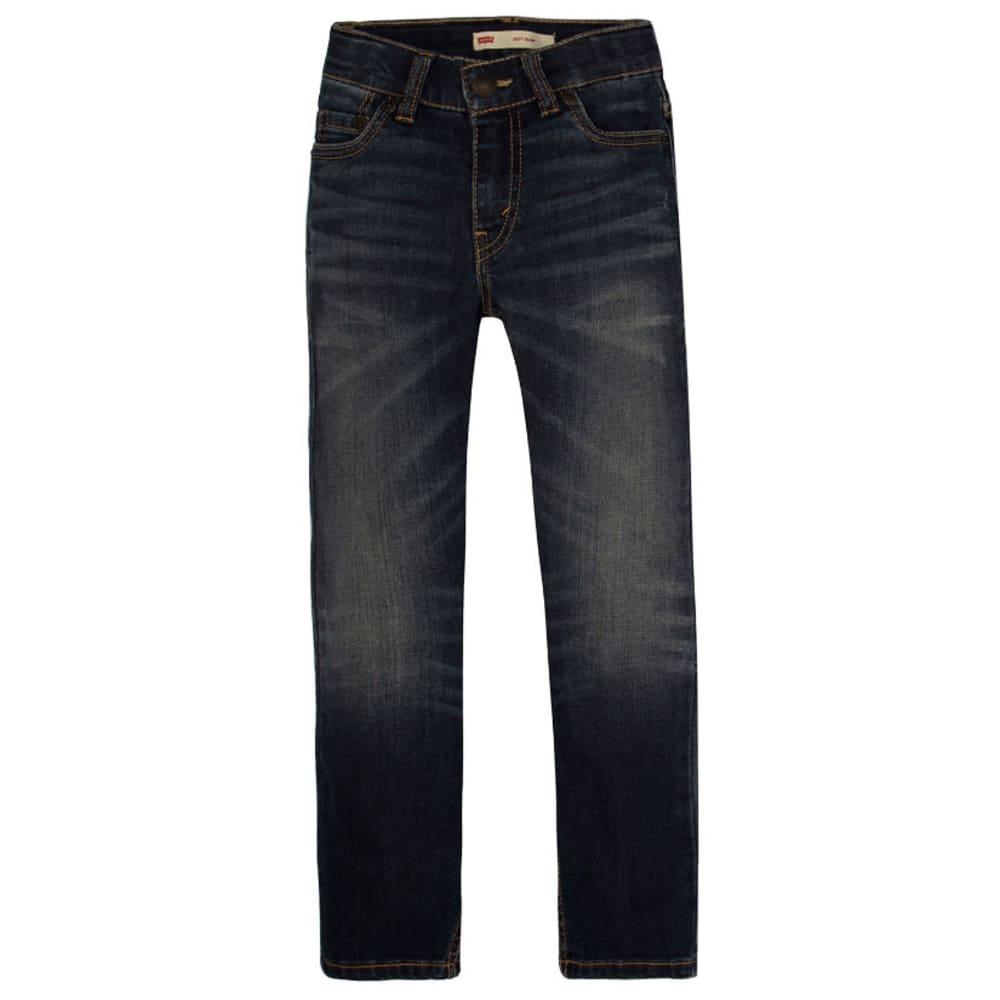 LEVI'S Big Boys' 511 Slim Fit Performance Jeans - RESILIENT BLUE