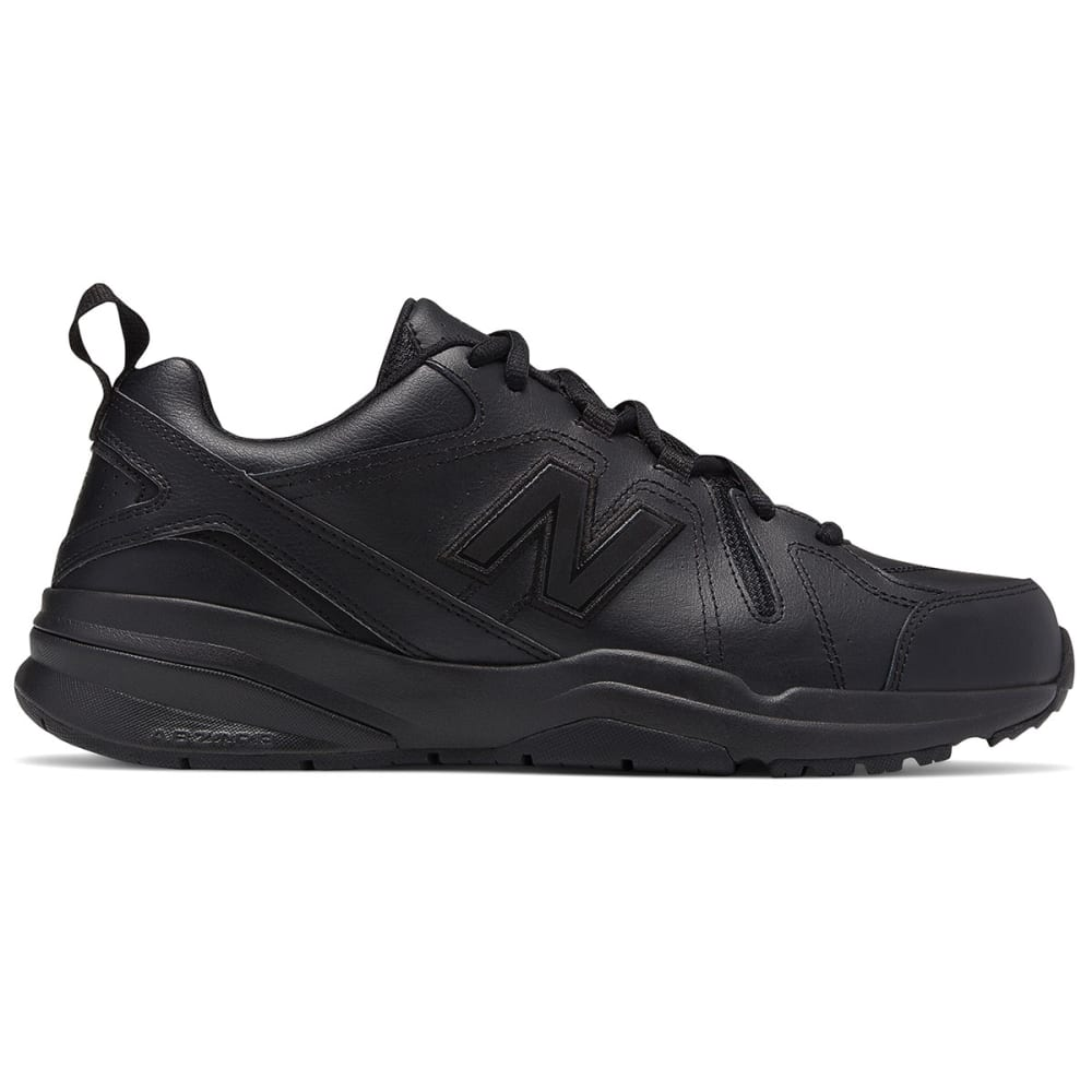 NEW BALANCE Men's 608v5 Training Shoes - BLACK-AB5
