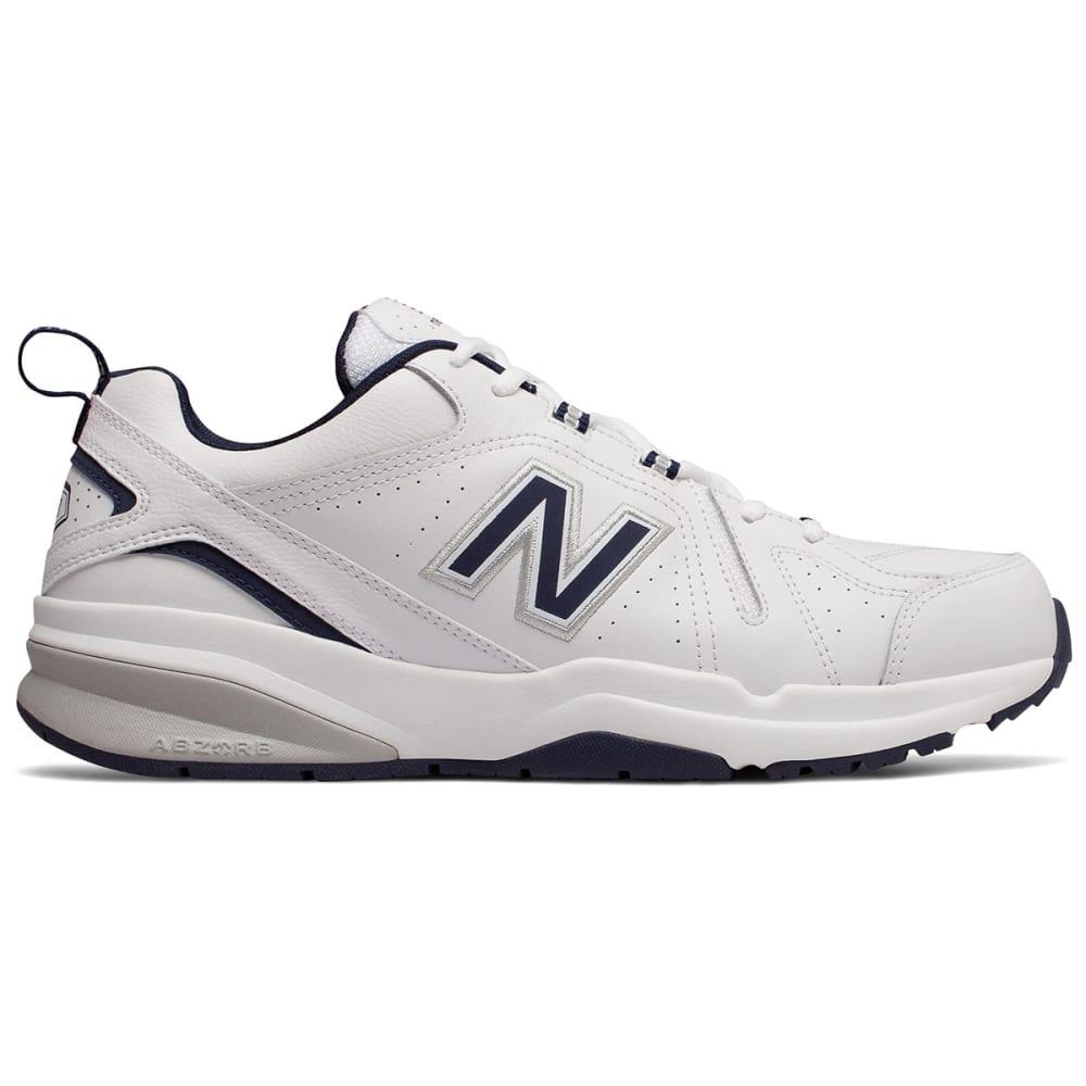 New Balance Men's 608V5 Training Shoes, Medium - White, 8.5