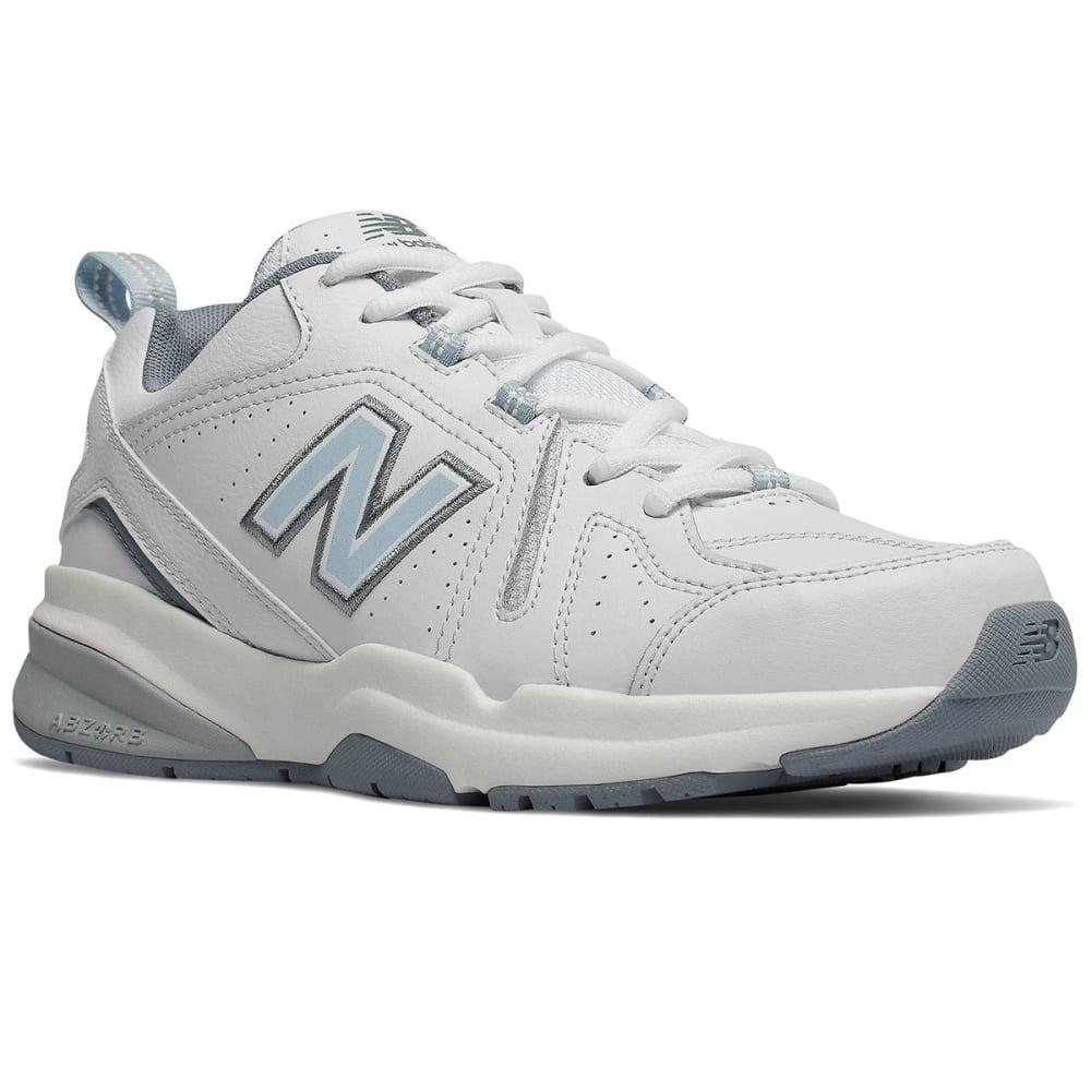 New Balance Women's 608V5 Cross-Training Shoes, Wide - White, 7.5