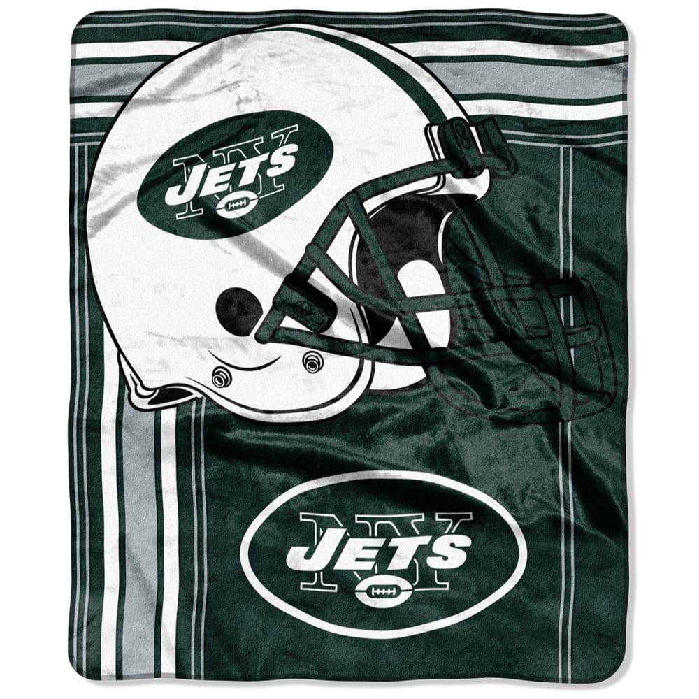 NEW YORK JETS 50 x 60 in. Raschel Blanket - GREEN