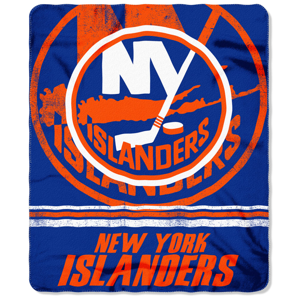 NEW YORK ISLANDERS 50 x 60 in. Fleece Throw Blanket - ROYAL BLUE