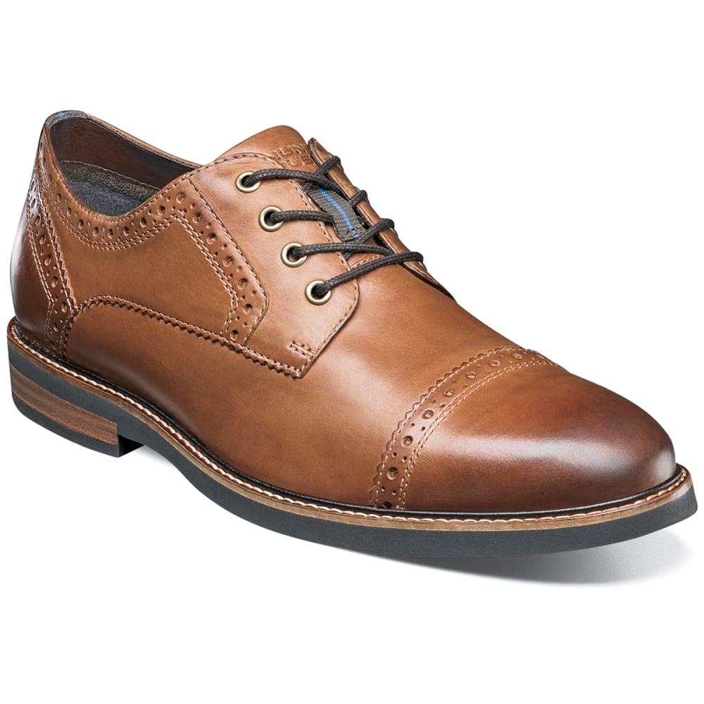 NUNN BUSH Men's Overland Cap Toe Oxford Shoes - TAN CH-239