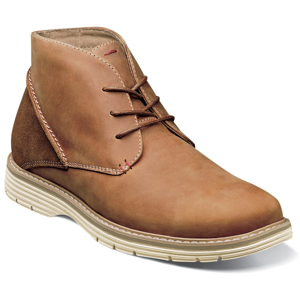 NUNN BUSH Men's Littleton Plain Toe Chukka Boots - TAN -240