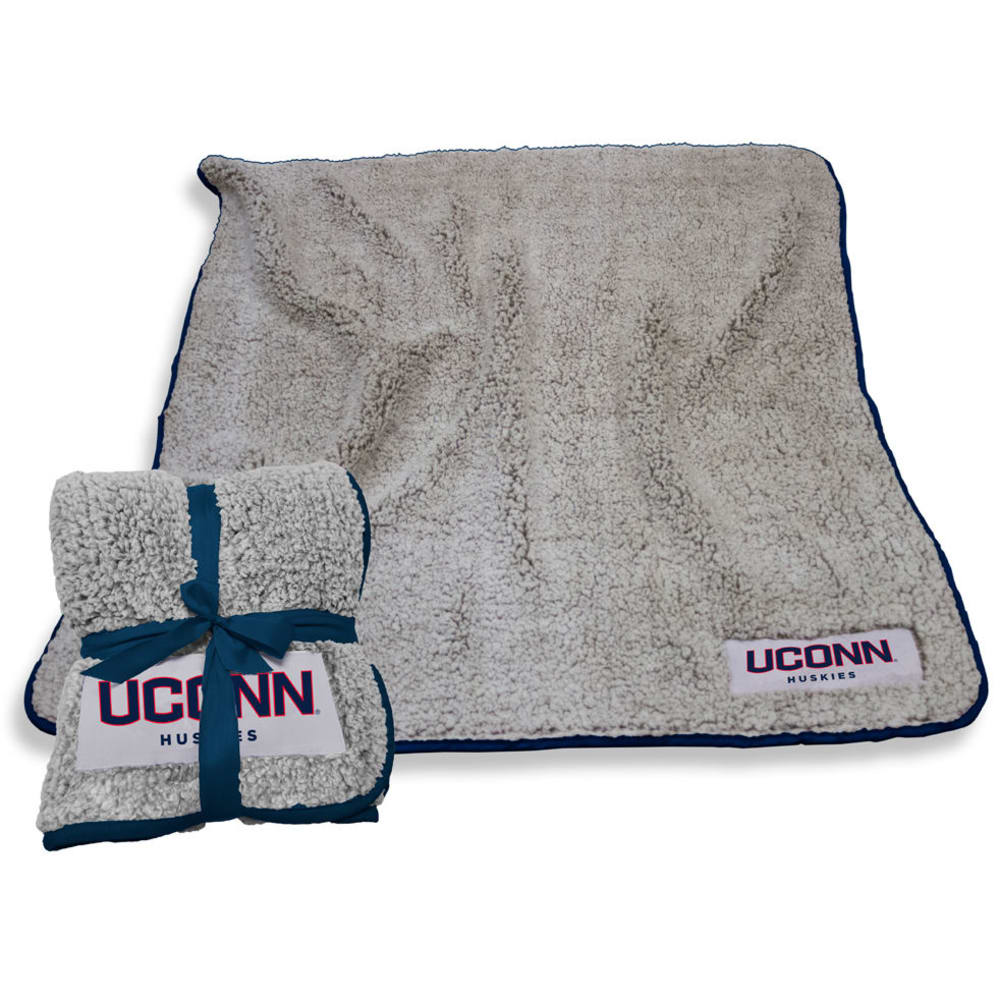UCONN Frosty Fleece Throw Blanket - UCONN