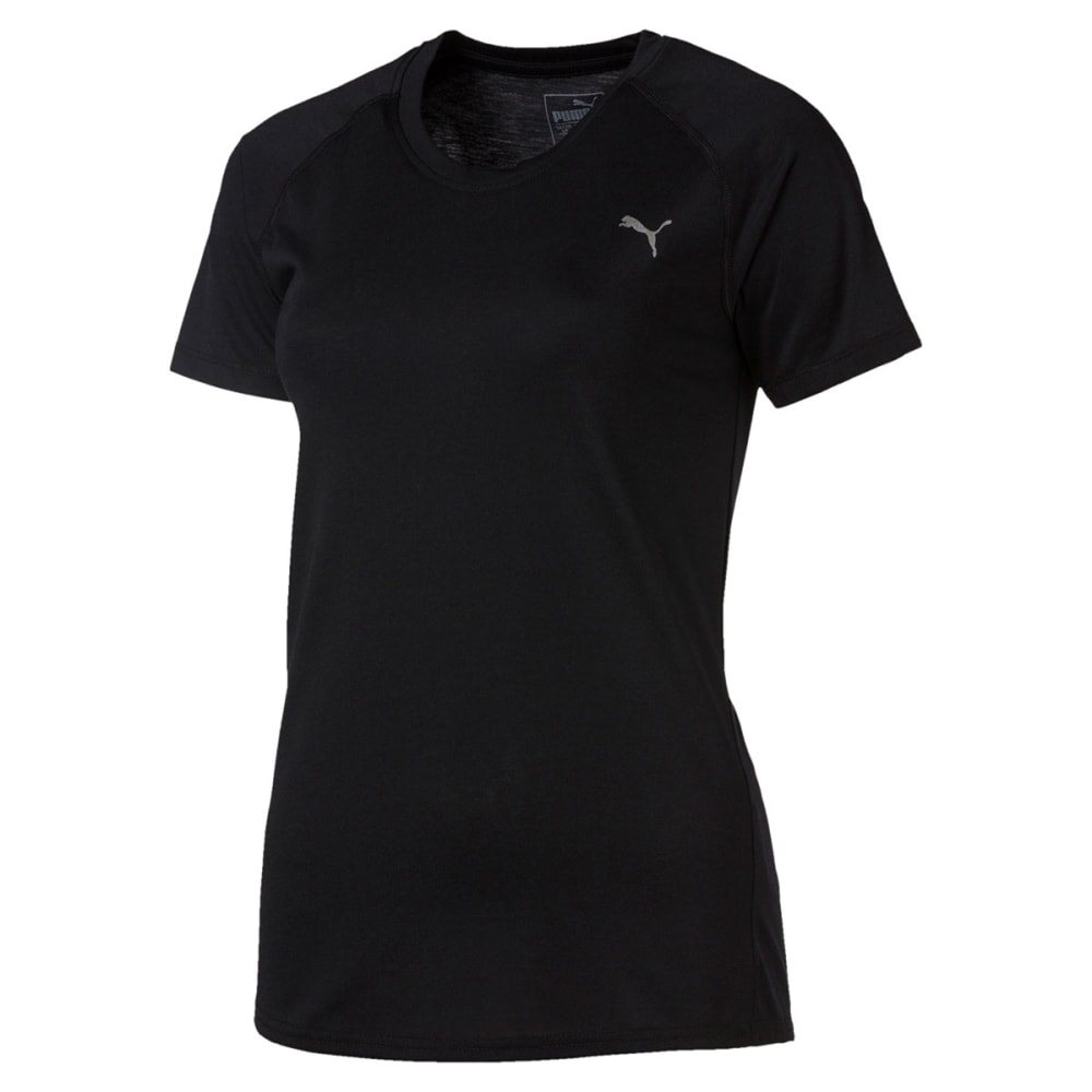 PUMA Women's Training A.C.E. Raglan Short-Sleeve Tee S