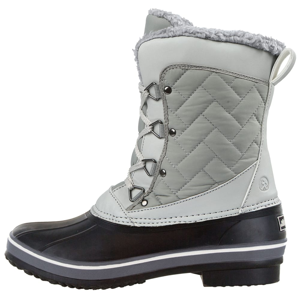 NORTHSIDE Women's Modesto Waterproof Insulated Storm Boots - LT GRY-055
