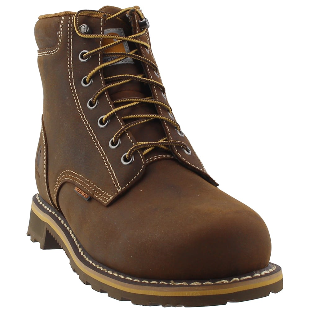CARHARTT Men's 6 in. Non-Safety Toe Waterproof Work Boots 8