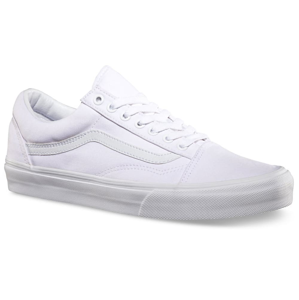 VANS Men's Old Skool Skate Shoes - TRUE WHT-VN000D3HW00