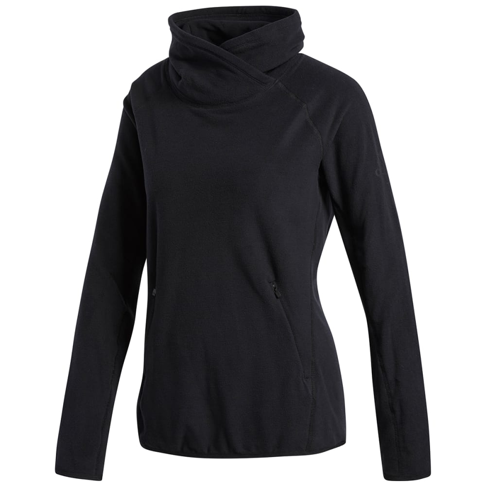 ADIDAS Women's Cover-Up Training Pullover - BLACK-DH3680