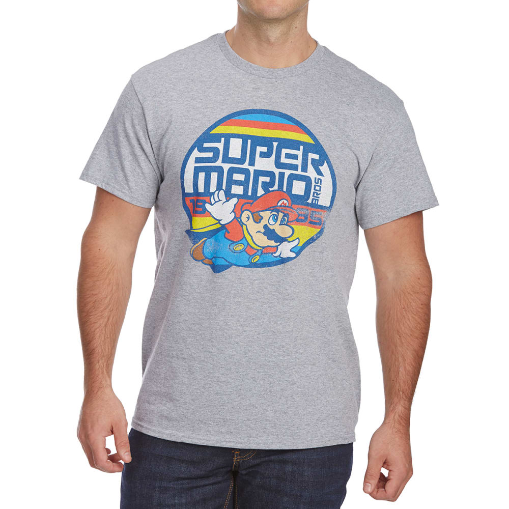 6c70be7cd3 FIFTH SUN Guys' Super Mario Bros. Vintage Short-Sleeve Graphic Tee