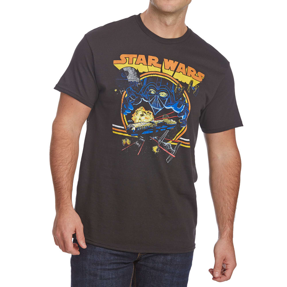 FIFTH SUN Guys' Star Wars Vader Short-Sleeve Tee - BLACK