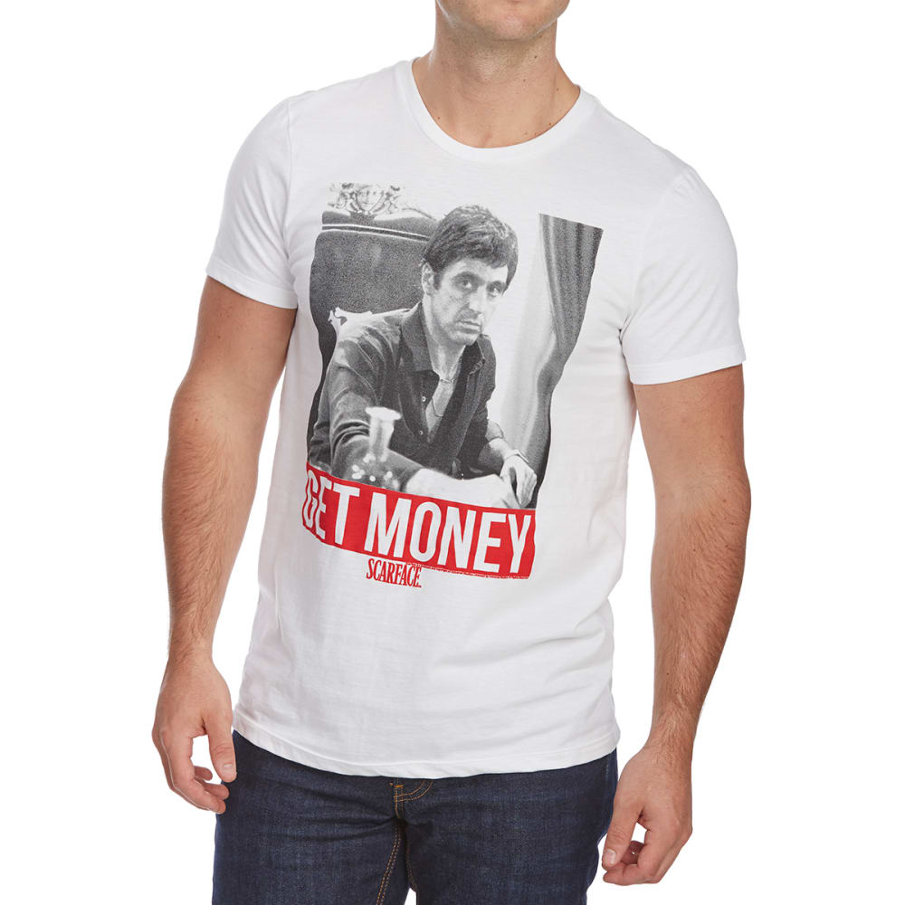 SCARFACE Guys' Get Money Short-Sleeve Graphic Tee - WHITE