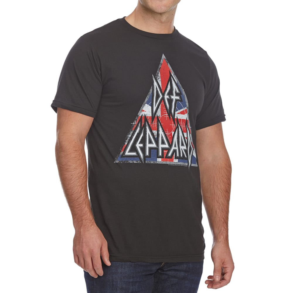 DEF LEPPARD Guys' Short-Sleeve Graphic Tee - BLACK