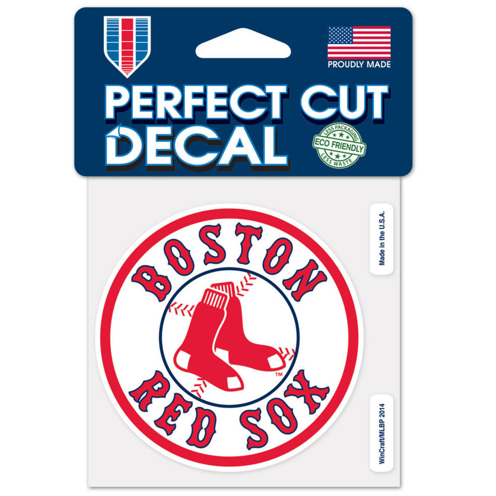 BOSTON RED SOX Red Sox Nation Perfect Cut Decal - NO COLOR