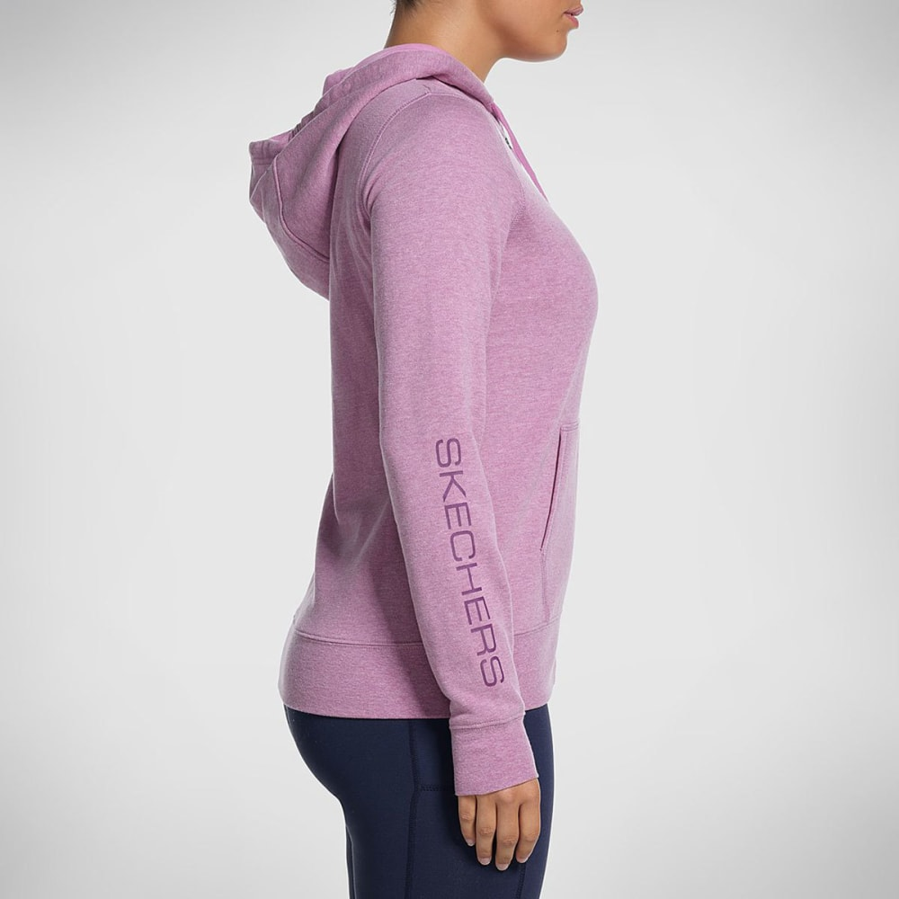 SKECHERS Women's Slumber II Zip Hoodie - ROSE-ROS