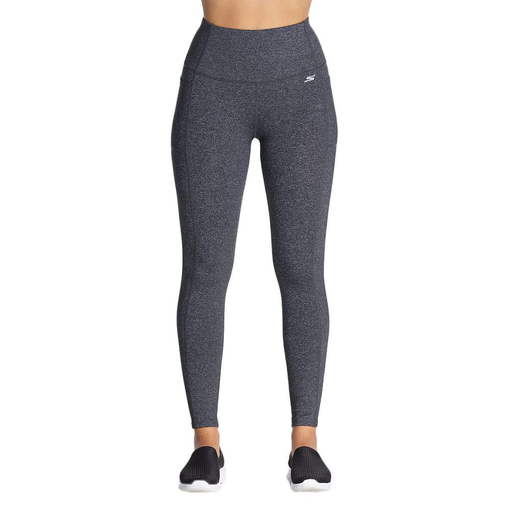 SKECHERS Women's GO FLEX High-Waist Leggings - CHARCOAL-CHAR