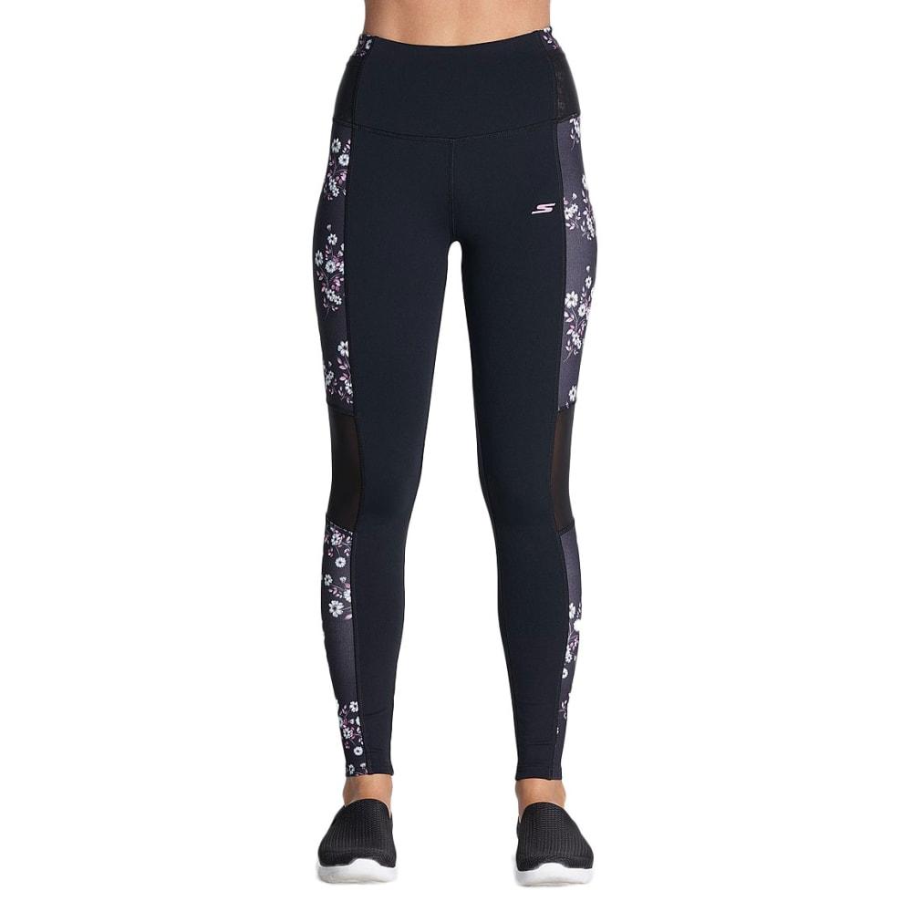 SKECHERS Women's Wander High-Waist Leggings - BLACK-BKMT