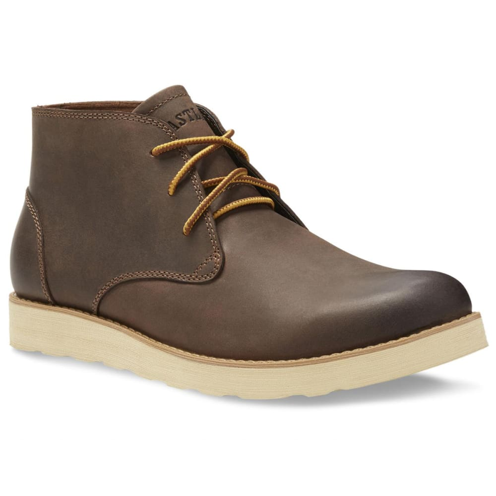 EASTLAND Men's Jack Plain Toe Chukka Boots - BROWN LEATHER-02