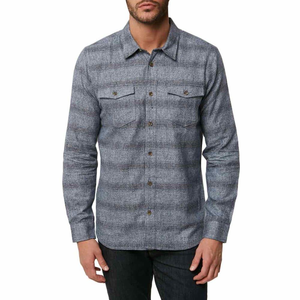 O'neill Guys' Covington Long-Sleeve Flannel Shirt - Blue, S