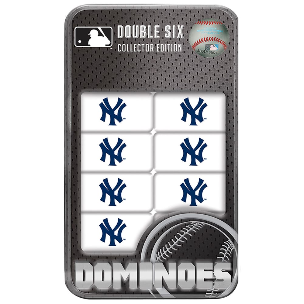 NEW YORK YANKEES Double-Six Dominoes - NO COLOR