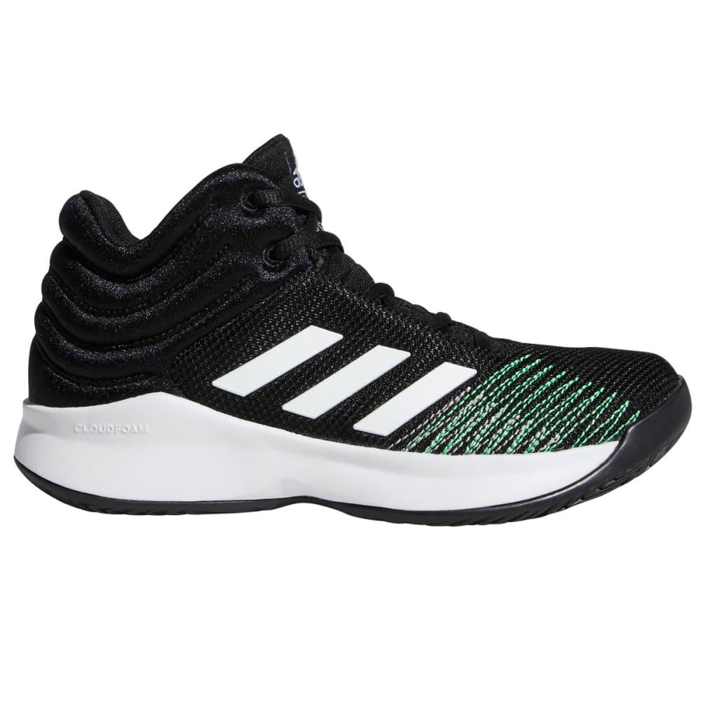 Adidas Boys' Pro Spark 2018 Basketball Shoes, Wide - Black, 3.5