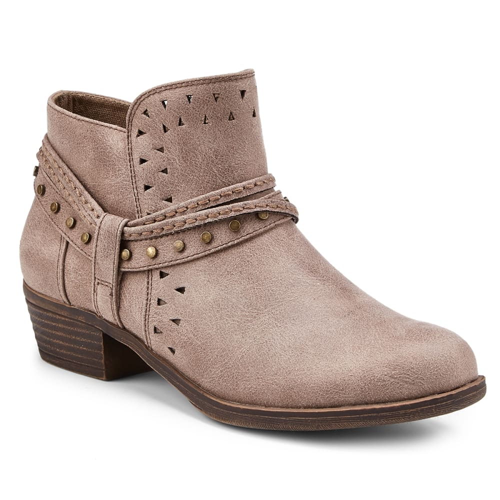 SUGAR Women's Thinker Perforated Booties - TAUPE