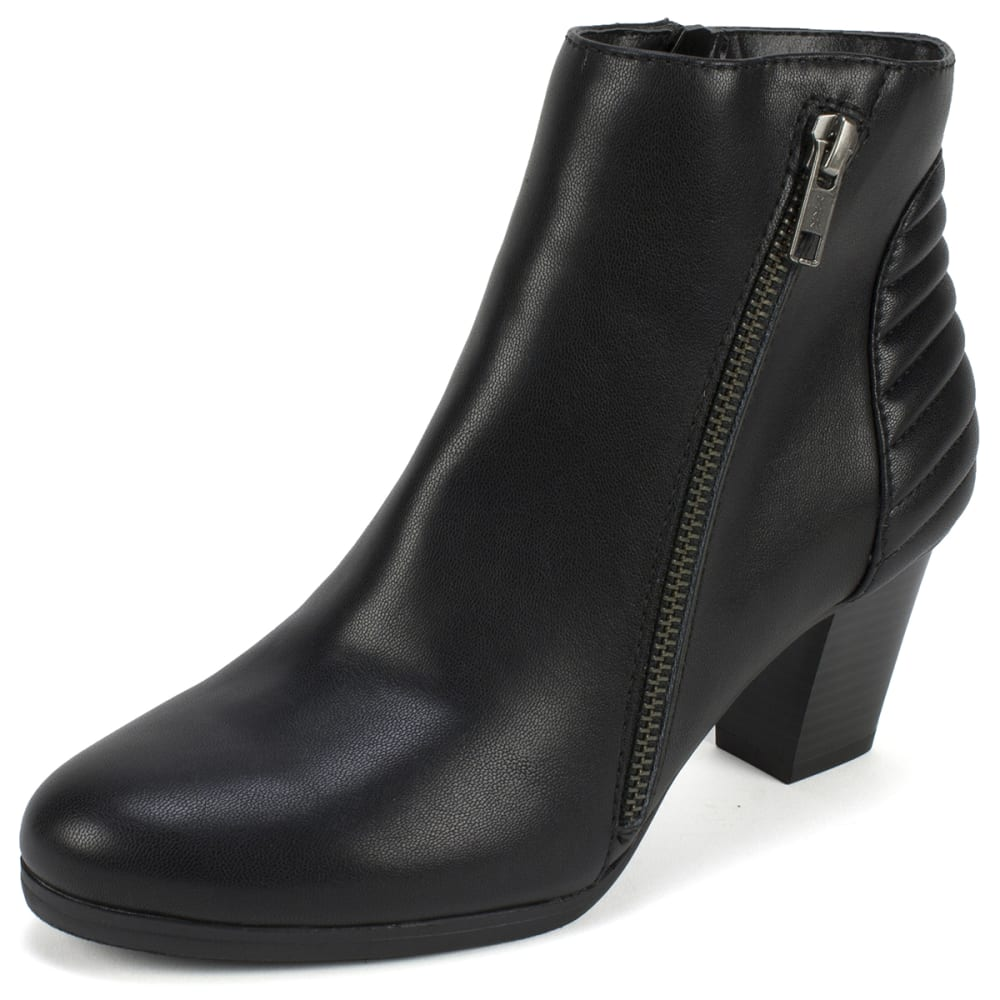 RIALTO Women's Fallon Booties - BLACK-964