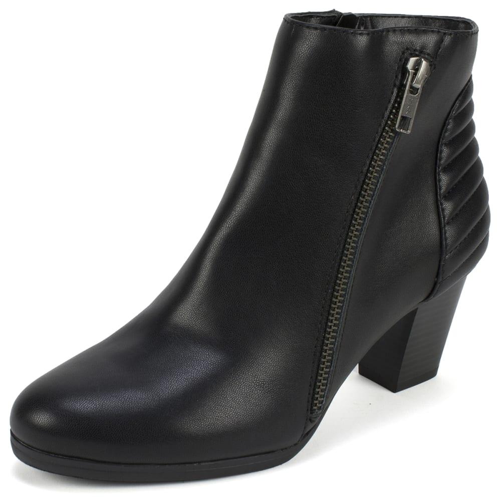 RIALTO Women's Fallon Booties - BLACK-964