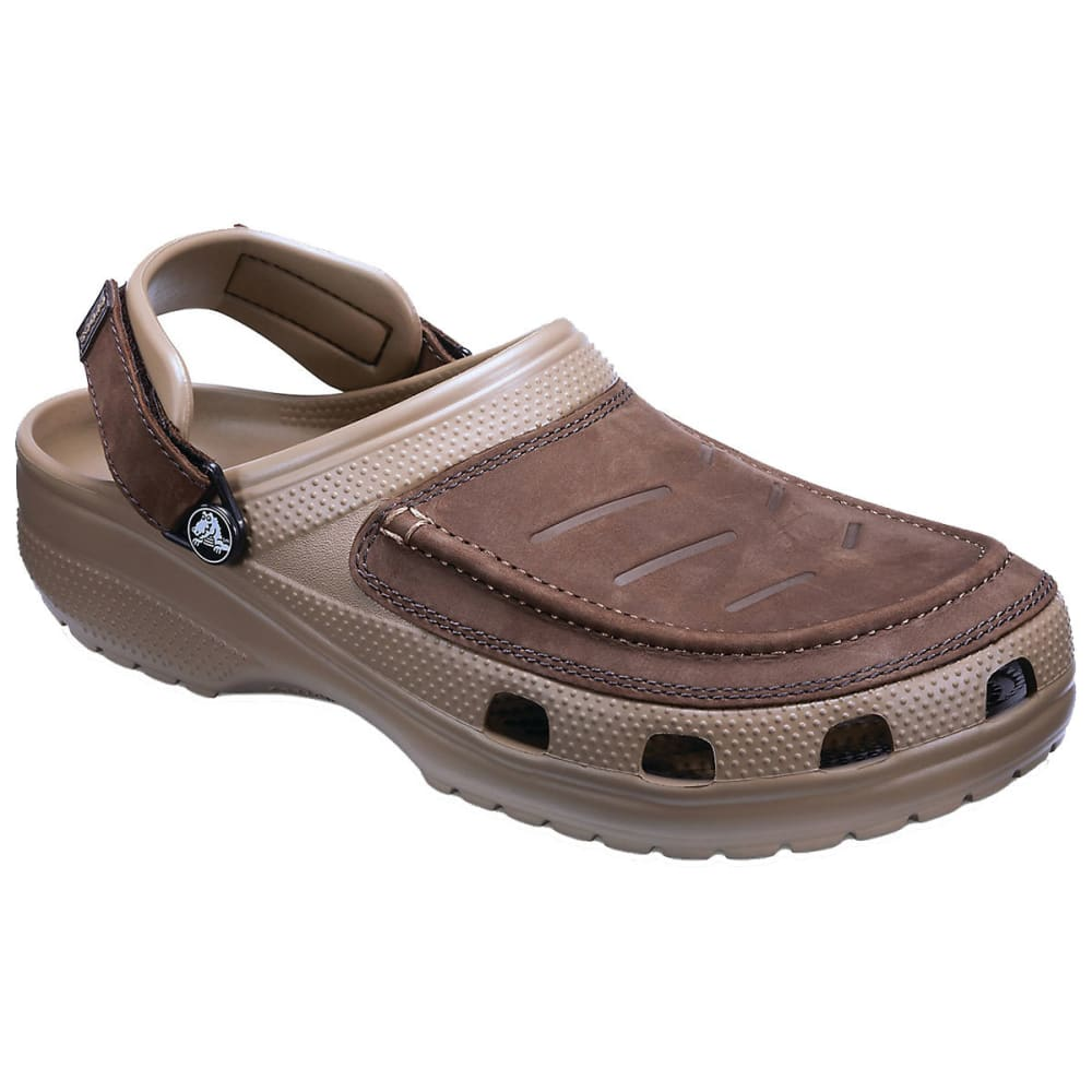 CROCS Men's Yukon Vista Clogs - ESPRESSO/KHAKI 22Y